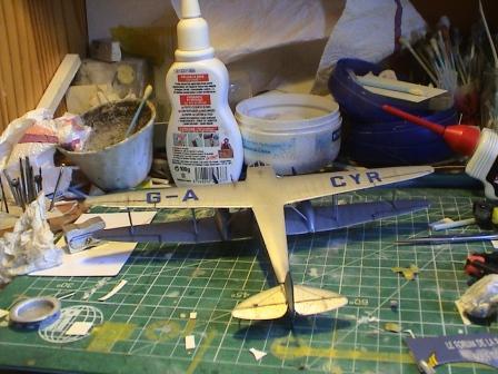 [Heller] De Havilland DH89 Dragon Rapide + Conversion DH 84 Dragon Dh2810