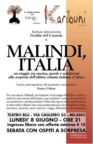 Karibuni Onlus - Freddy Del Curatolo - Teatro10