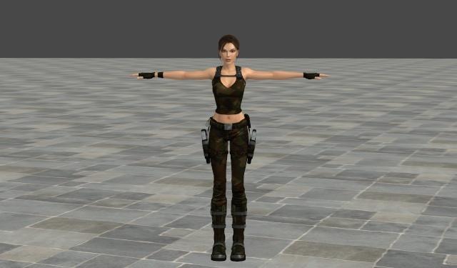 XNA Lara Modding, Costumes and Texturing - Discussion Camo210