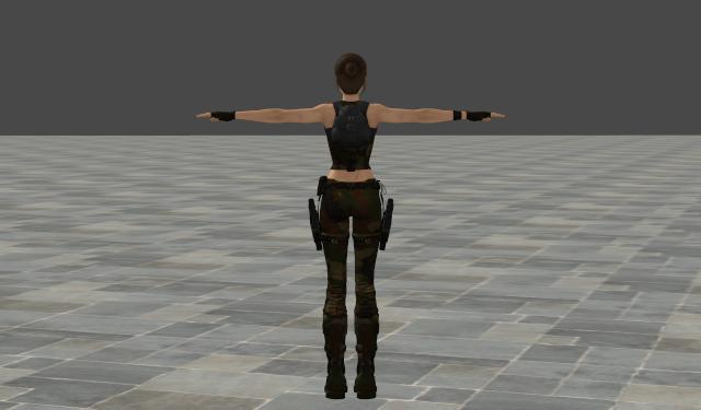XNA Lara Modding, Costumes and Texturing - Discussion Camo310