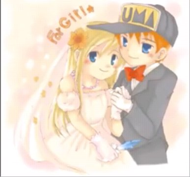 the perfect hm couple!! Weddin10