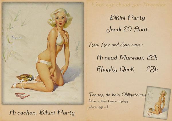 Bikini Party - 20 août à 22h Arcach10