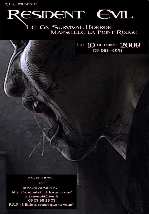 Resident Evil 10 octobre Affich13