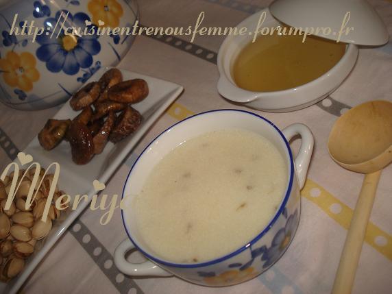 Hssowa ou 7ssowa ou Asskiff marocain sucrée de semoule à l' anis et au lait. Dsc06710