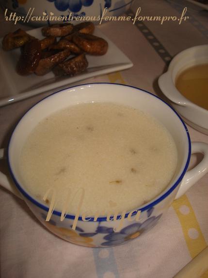 Hssowa ou 7ssowa ou Asskiff marocain sucrée de semoule à l' anis et au lait. Dsc06712