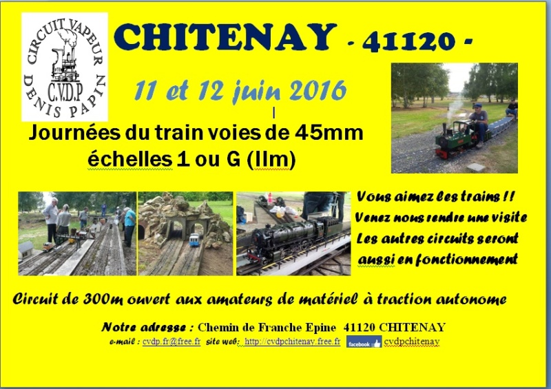 45mm  Day at CVDP Blois 11/12 June Affich10