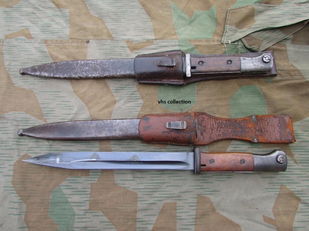 Baïonnette mauser K98 police Img_7810