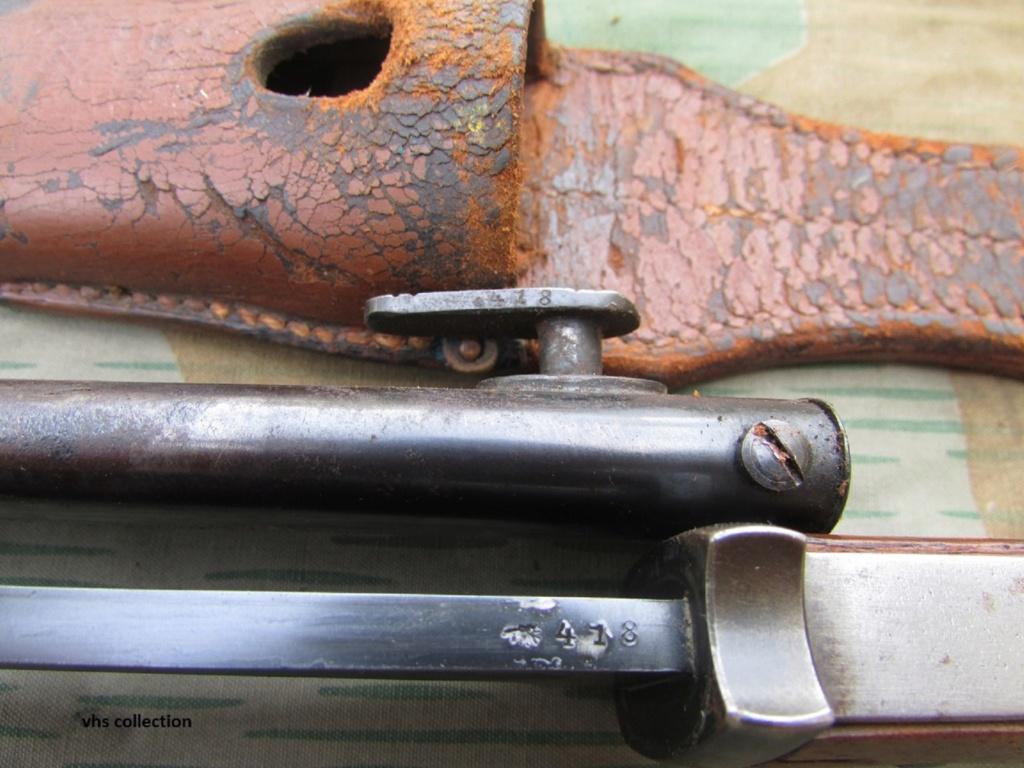 Baïonnette mauser K98 police Img_7811