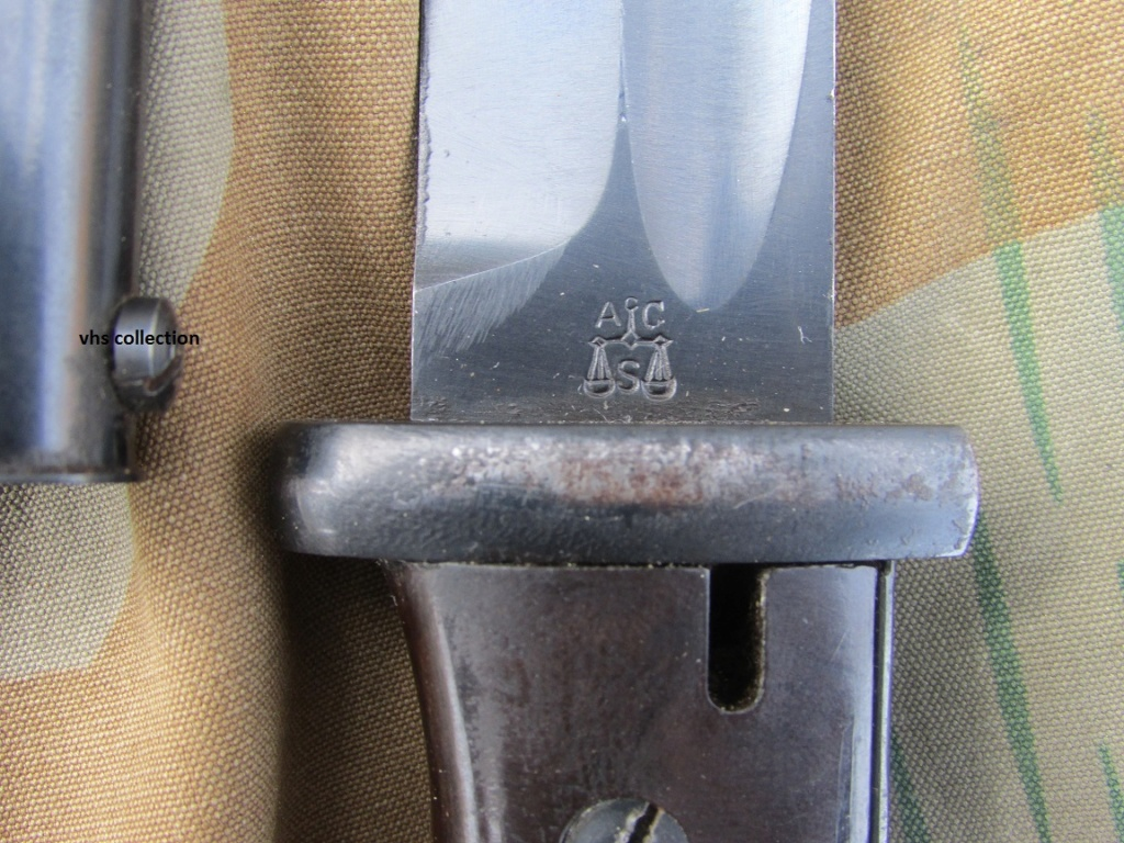 Baïonnette mauser K98 police Img_8011