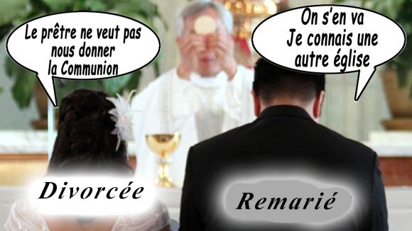A propos des divorcés remariés et la communion? On-sen10