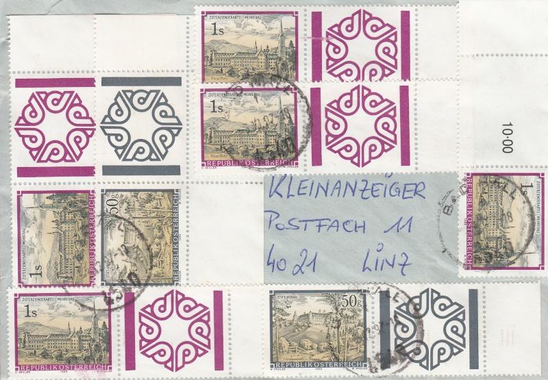 Briefmarken - Briefmarken mit Zierfeldern Allongen (bedruckte Zierfelder) Img14
