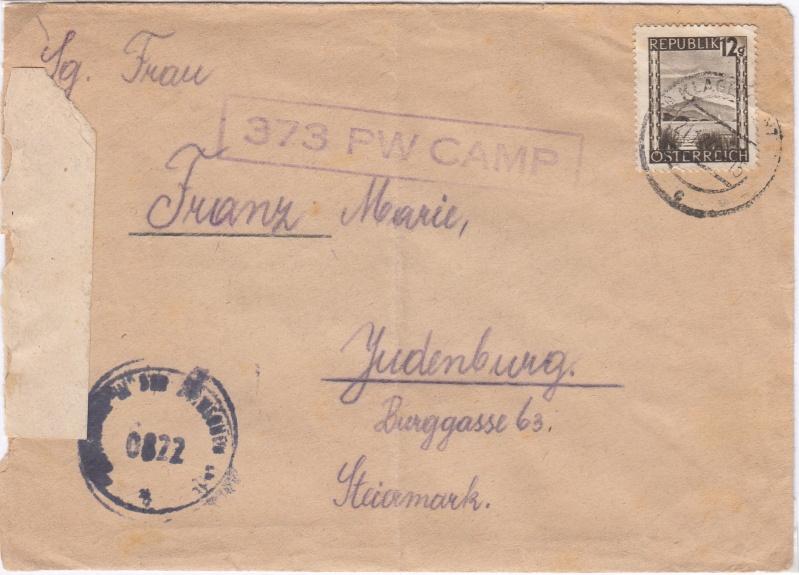 Kriegsgefangenenpost II. Weltkrieg (Österreich) Img16