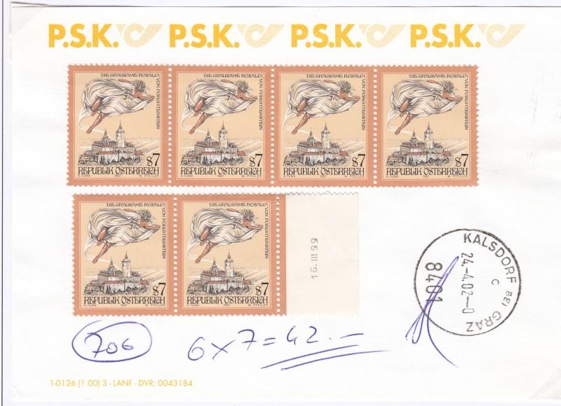 Umtausch Schilling Briefmarken in Euro Briefmarken Img44
