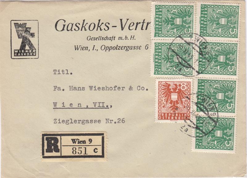 Wappenzeichnung  -  ANK 714-736 - Belege - Seite 3 Img45