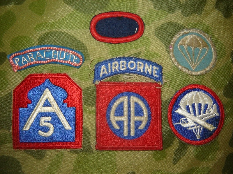 Collections Airborne US, WWII. Collec38