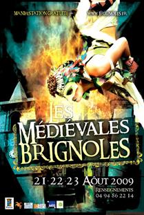 FETE MEDIEVALE DE BRIGNOLE (83) LE DIM.23 AOUT Mediev11