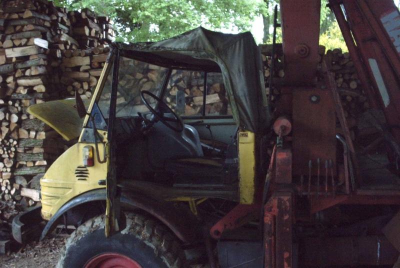 la restauration de mon 406A de 1970 Unimog17