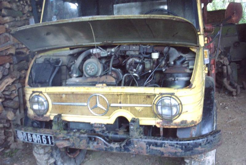 la restauration de mon 406A de 1970 Unimog18