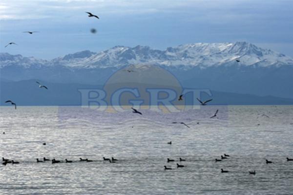 Beyşehir'in sembolü olan Anamas Dağı beyaz gelinliğini giydi. Kar10