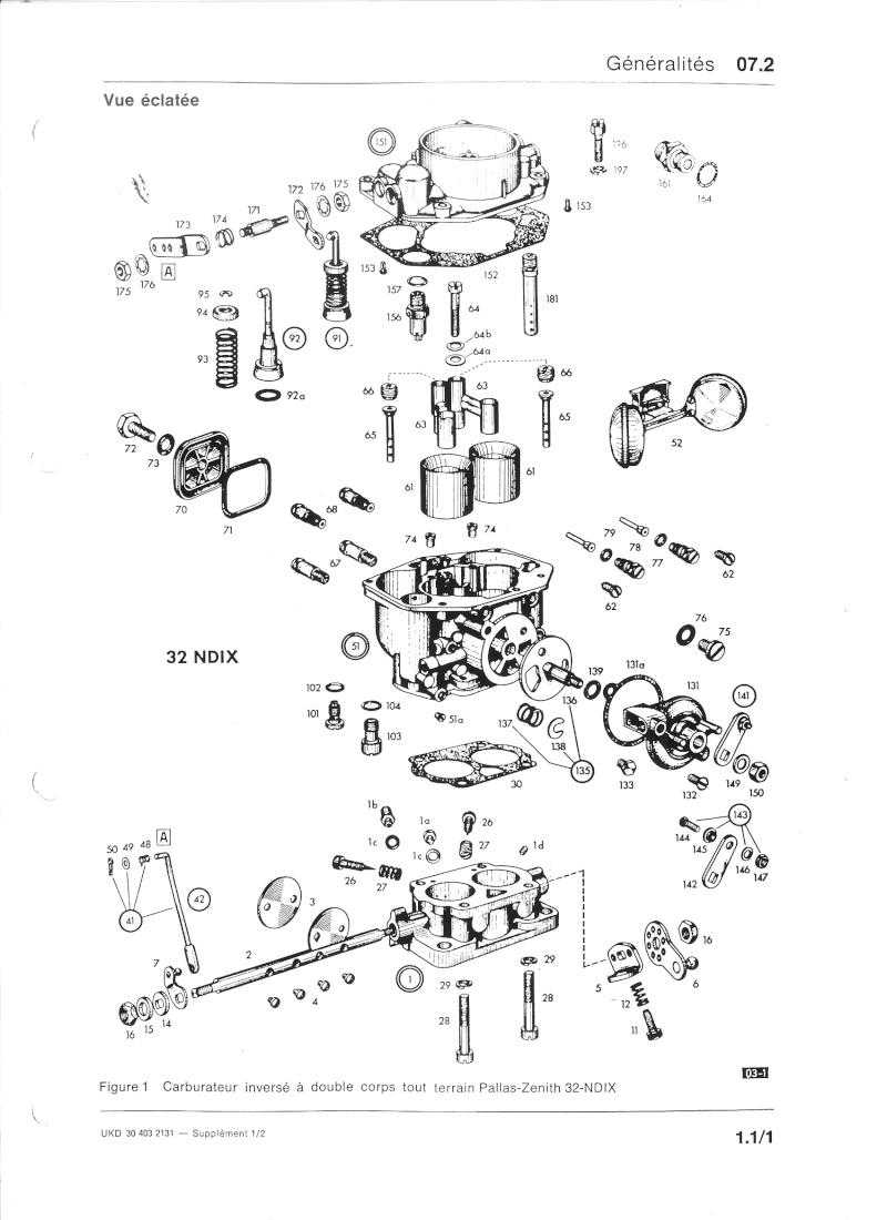 carburateur unimog404 Carbur10