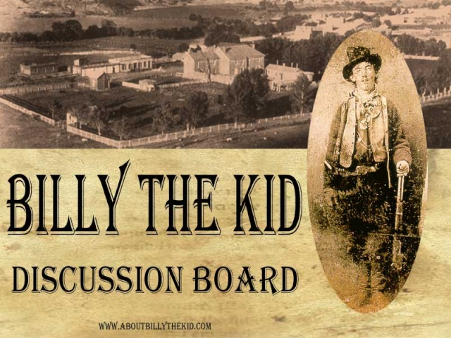 About Billy the Kid Discussion Board - Portal* Btk_db12