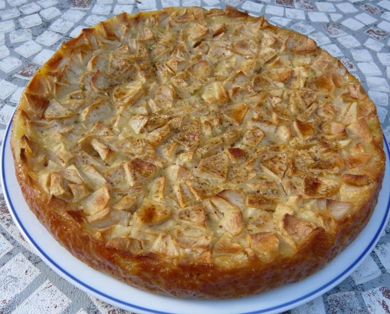 Clafoutis aux Pommes P1000910