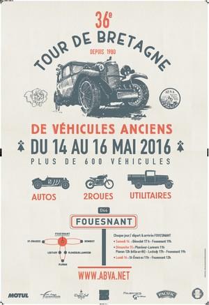 36e Tour de Bretagne Affich10