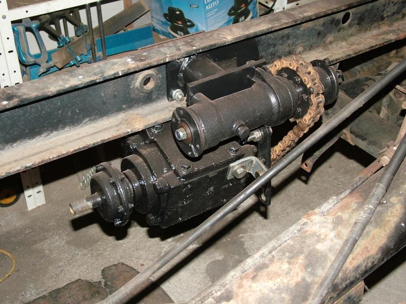 Pompe hydraulique sortie prise de force... Dscf5918