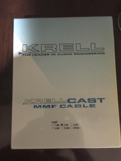 Nordost- Krell MMF cast cable (Used) Image22