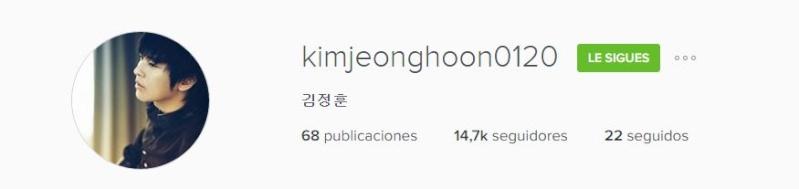 [ACTUALIZACIÓN] INSTAGRAM OFICIAL DE KIM JEONG HOON  - Página 2 4510