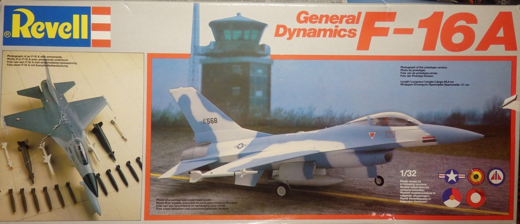 General Dynamics F-16A Fighting Falcon [REVELL 1/32] P3252610
