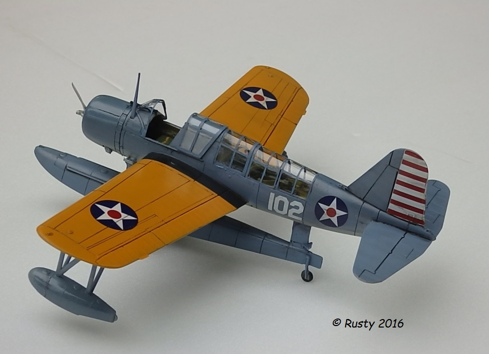 OS2U KINGFISHER [MONOGRAM 1/48] P5163012