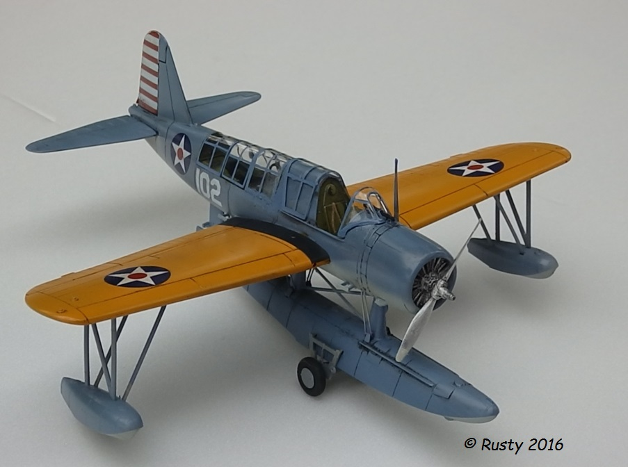 OS2U KINGFISHER [MONOGRAM 1/48] P5163013