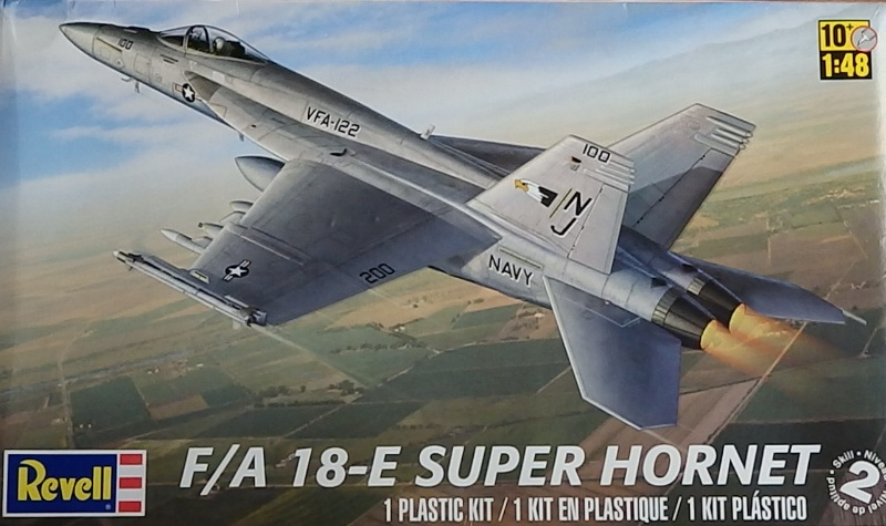 F/A-18E SUPER HORNET VFA-122 Flying Eagles [REVELL USA 1/48] P5223012