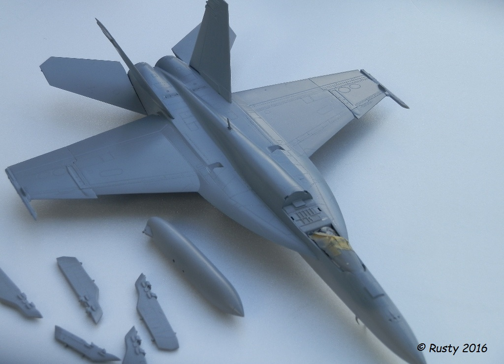 F/A-18E SUPER HORNET VFA-122 Flying Eagles [REVELL USA 1/48] P5250211