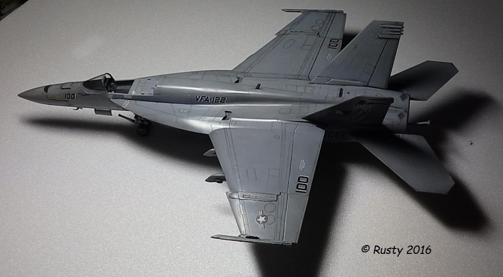 F/A-18E SUPER HORNET VFA-122 Flying Eagles [REVELL USA 1/48] P5273111