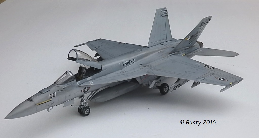 F/A-18E SUPER HORNET VFA-122 Flying Eagles [REVELL USA 1/48] P5283114
