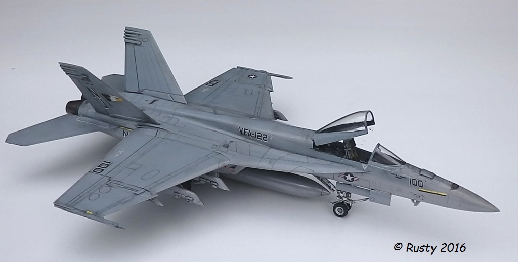 F/A-18E SUPER HORNET VFA-122 Flying Eagles [REVELL USA 1/48] P5283115