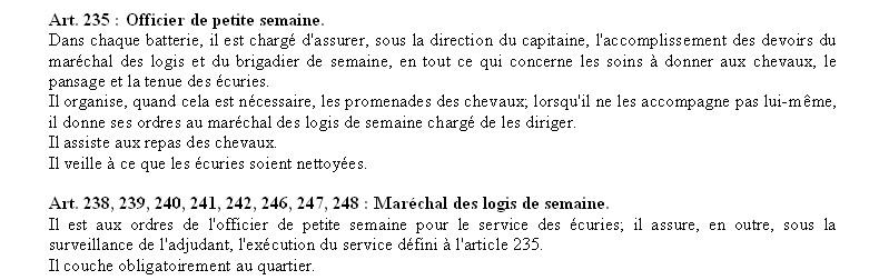 SERVICE DE PLACE Pl1910