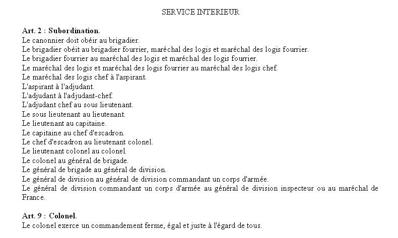 SERVICE DE PLACE Pl310
