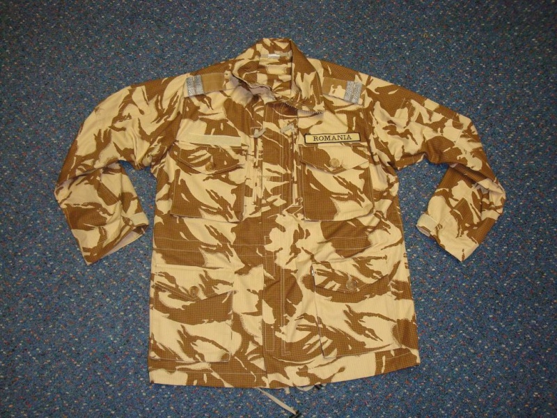 Desert camouflage field jacket & uniform Romani20