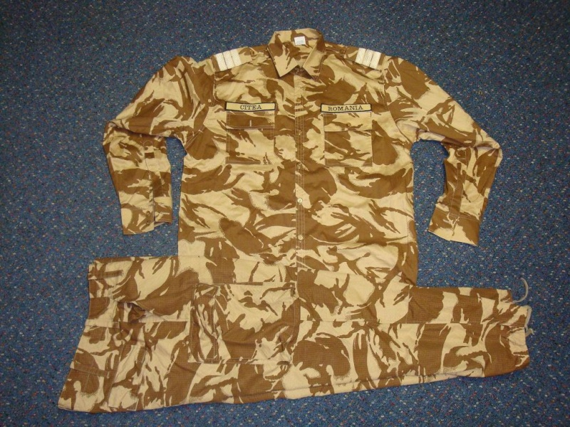 Desert camouflage field jacket & uniform Romani22