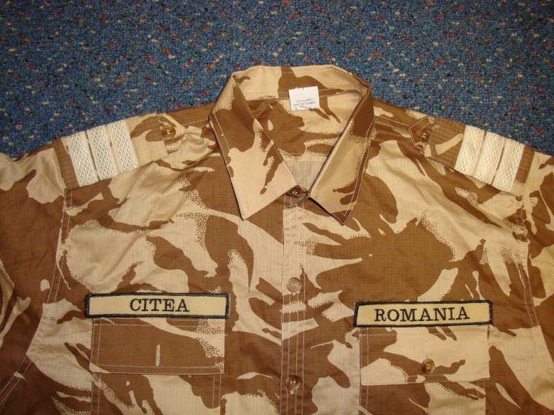 Desert camouflage field jacket & uniform Romani23