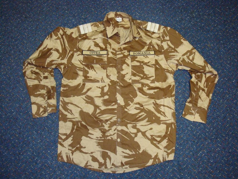 Desert camouflage field jacket & uniform Romani25