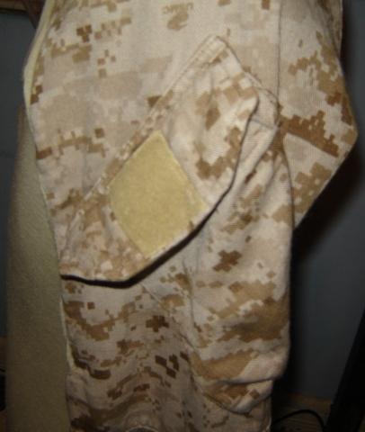 USMC FROG (Flame Resistant Organizational Gear) Desert MARPAT Uniform 00311