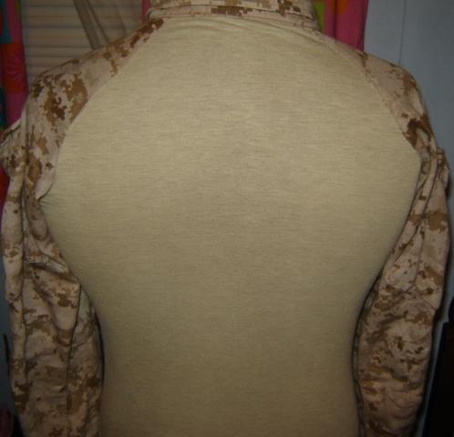 USMC FROG (Flame Resistant Organizational Gear) Desert MARPAT Uniform 00412