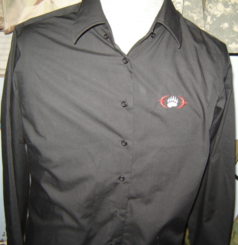 Blackwater shirts for a female employee 00525
