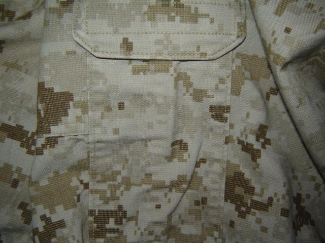 USMC FROG (Flame Resistant Organizational Gear) Desert MARPAT Uniform 00811
