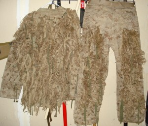 Two of my ghillie suits Post-572