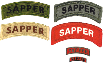 Qualification Badges of US Army Uniforms Sapper10